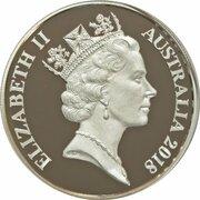 2 Cents - Elizabeth II (3rd Portrait - Silver) -  obverse