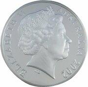 5 Dollars - Elizabeth II (4th Portrait - Endeavour - Masterpieces in Silver) -  obverse