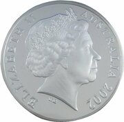 5 Dollars - Elizabeth II (4th Portrait - Duyfken - Masterpieces in Silver) -  obverse