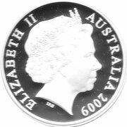 5 Dollars - Elizabeth II (4th Portrait - De Havilland DH 86 - Masterpieces in Silver) – obverse