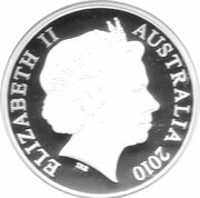 5 Dollars - Elizabeth II (4th Portrait - S.25 Sandringham - Masterpieces in Silver) – obverse