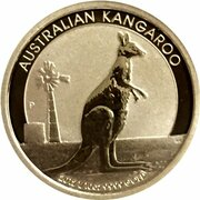 15 Dollars - Elizabeth II (4th Portrait - Kangaroo -Gold Bullion Coin) -  reverse
