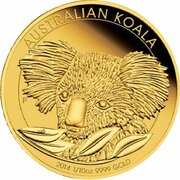 15 Dollars - Elizabeth II (4th Portrait - Koala - Gold Bullion Coin) -  reverse