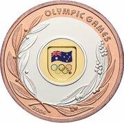 50 Dollars - Elizabeth II (4th Portrait - Olympic Games 2004 - Tri-Metalic) -  reverse