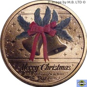1 Dollar - Elizabeth II (4th Portrait - Merry Christmas) -  reverse