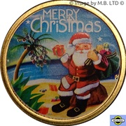 1 Dollar - Elizabeth II (4th Portrait - Merry Christmas) – reverse