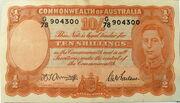 10 Shillings -  obverse