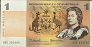 1 Dollar (Commonwealth of Australia) – obverse