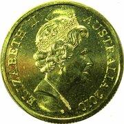 20 Cents - Elizabeth II (5th Portrait - Gottwald Proof Gold) -  obverse