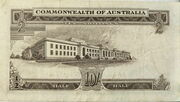 10 Shillings (Commonwealth Bank) – reverse