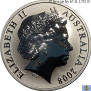 1 Dollar - Elizabeth II (4th Portrait - Mombassa Kangaroo) -  obverse