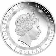 1 Dollar - Elizabeth II (4th Portrait - Sister Cities - Silver Proof) -  obverse