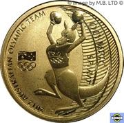 1 Dollar - Elizabeth II (4th Portrait - 2012 Australian Olympic Team - Olympic Spirit) -  reverse