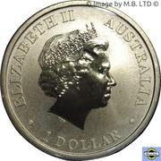 1 Dollar - Elizabeth II (4th Portrait - Merry Christmas) -  obverse