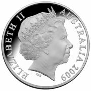 1 Dollar - Elizabeth II (4th Portrait - Mombassa Kangaroo - Silver Colourised Proof) -  obverse