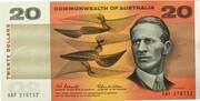 20 Dollars (Commonwealth of Australia) – obverse