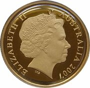 10 Dollars - Elizabeth II (4th Portrait - Rolf Harris Kangaroo - Gold Proof) -  obverse