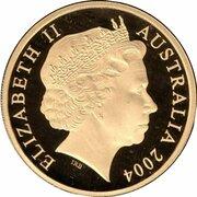 200 Dollars - Elizabeth II (4th Portrait - Cassowary - Gold Proof) -  obverse