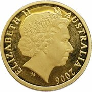 150 Dollars - Elizabeth II (4th Portrait - Red Tailed Cockatoo - Gold Bullion Coin) -  obverse