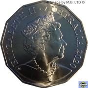 50 Cents - Elizabeth II (6th Portrait - Afghan Cameleers) – obverse