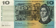 10 Dollars (Commonwealth of Australia) -  obverse