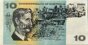 10 Dollars (Commonwealth of Australia) -  reverse