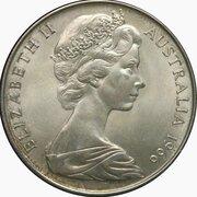 50 Cents - Elizabeth II (2nd Portrait - Pattern) -  obverse