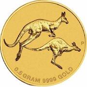 2 Dollars - Elizabeth II (4th Portrait - Mini Roo - Gold Bullion Coin) -  reverse