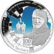 1 Dollar - Elizabeth II (4th Portrait - South Magnetic Pole) -  reverse