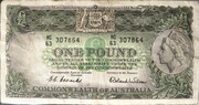 1 Pound (Commonwealth Bank) – obverse