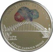 1 Dollar - Elizabeth II (4th Portrait - Sydney Harbour Bridge - Silver Proof) -  reverse