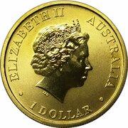 1 Dollar - Elizabeth II (4th Portrait - First Banknote 100th Anniversary) -  obverse