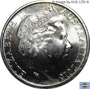 20 Cents - Elizabeth II (4th Portrait - War Correspondents) -  obverse