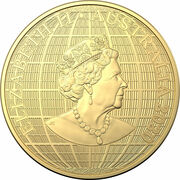 100 Dollars - Elizabeth II (6th Portrait - Beneath the Southern Skies - Gold Bullion Coin) -  obverse