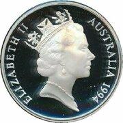 5 Dollars - Elizabeth II (3rd Portrait - Charles Sturt - Masterpieces in Silver) -  obverse