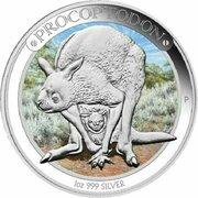 1 Dollar - Elizabeth II (4th Portrait - Megafauna - Procoptodon) -  reverse