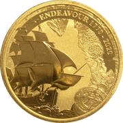 1 Dollar - Elizabeth II (6th Portrait - Navigating History - Endeavour) -  reverse