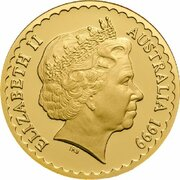 100 Dollars - Elizabeth II (4th Portrait - Common Heath - Gold Bullion Coin) -  obverse