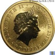 1 Dollar - Elizabeth II (4th Portrait - World Expo - Lunar Tiger) -  obverse