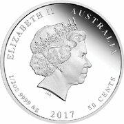 50 Cents - Elizabeth II (4th Portrait - 1917 Front Line Angels) – obverse