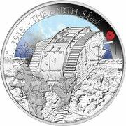 50 Cents - Elizabeth II (4th Portrait - 1918 The Earth Shook) -  reverse