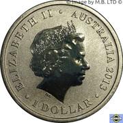 1 Dollar - Elizabeth II (4th Portrait - Ludwig Leichhardt - 1813-1848) -  obverse