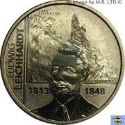 1 Dollar - Elizabeth II (4th Portrait - Ludwig Leichhardt - 1813-1848) -  reverse