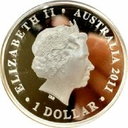 1 Dollar - Elizabeth II (4th Portrait - Tobruk 1941) -  obverse