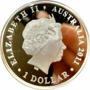 1 Dollar - Elizabeth II (4th Portrait - Gallipoli 1915) -  obverse