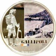 1 Dollar - Elizabeth II (4th Portrait - Gallipoli 1915) -  reverse