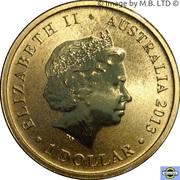 1 Dollar - Elizabeth II (4th Portrait - Bush Babies - Platypus) -  obverse