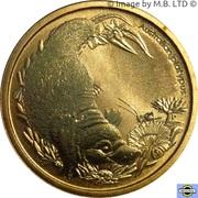 1 Dollar - Elizabeth II (4th Portrait - Bush Babies - Platypus) -  reverse