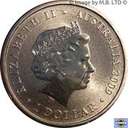 1 Dollar - Elizabeth II (4th portrait - Year of the Ox) -  obverse