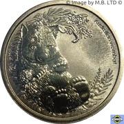 1 Dollar - Elizabeth II (4th Portrait - Bush Babies - Wombat) -  reverse